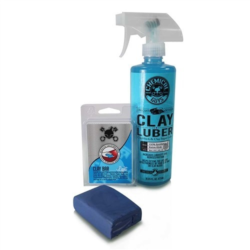 Chemical Guys - Clay Bar Blue & Luber Kit (Light Duty)