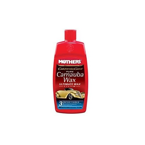 Mothers Wax - California Gold Pure Carnauba Wax Liquid - Ultimate Wax System Step 3 - 473ml