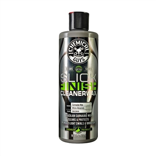 Chemical Guys - Slick Finish Cleaner Wax - wassen en waxen in 1 - 473ml
