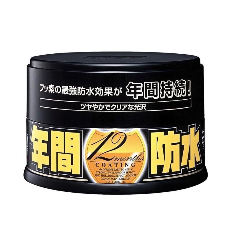 Soft99 - Fusso Coat Dark - 12 maanden wax voor donkere lakken