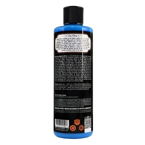 Chemical Guys - Rinse Free Wash and Shine - wassen zonder water - 473ml