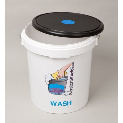 ScratchShield - Bucket Lid Black/Blue