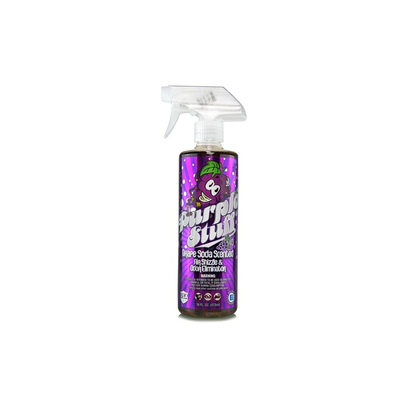 Chemical Guys - Purple Stuff luchtverfrisser Premium Grape Soda Scent Air Freshener & Odor Eliminator