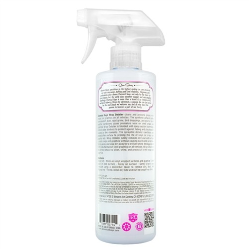 Chemical Guys - Wrap Detailer - glansversterker voor wrap en vinyl - 473ml
