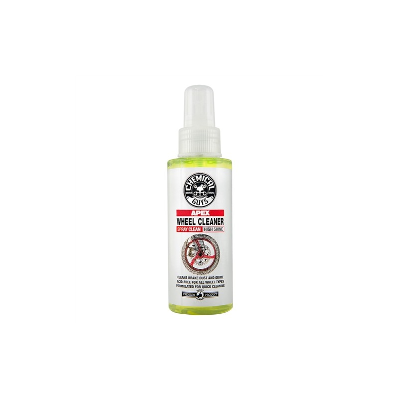Chemical Guys - Apex Wheel Cleaner Spray On, Wipe Off Wheel and Tire Cleaner for Motorcycles - 118ml