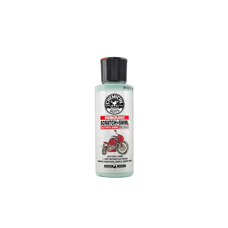 Chemical Guys - Rebound Scratch & Swirl Remover One Step Polish for Motorcycles - 118ml