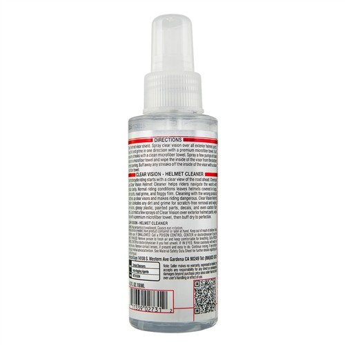 Chemical Guys - Clear Vision Streak Free Helm Reiniger - 118ml