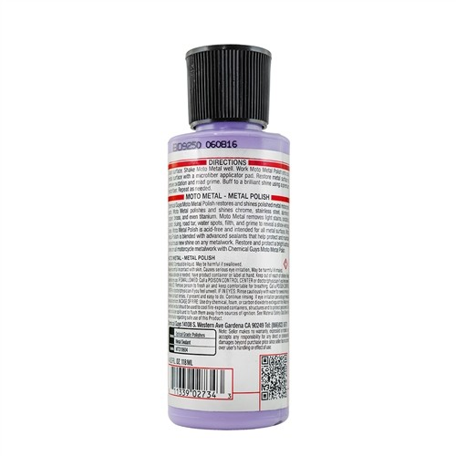 Chemical Guys - Moto Metal Polish - 118ml