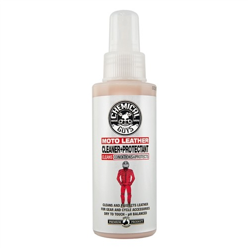 iger eChemical Guys - Moto Leather Cleaner & Protectant leer reinn beschermer - 118ml