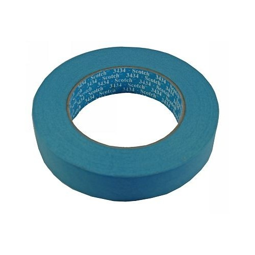 3M - 3434 afplaktape - 19mm breed