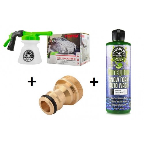 Chemical Guys - Honeydew Snow Foam & Torq R1 Foam Blaster Schuimpistool incl. adapter
