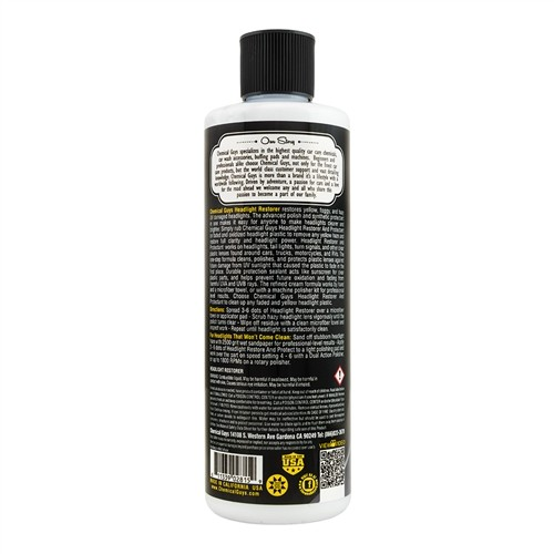 Chemical Guys - Headlight Restorer and Protectant koplamp hersteller - GAP11516 473ml