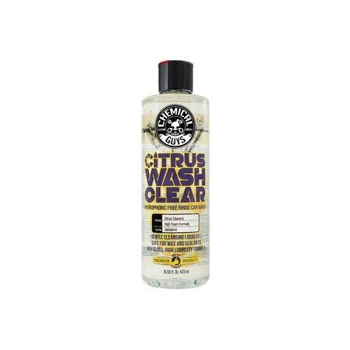 Chemical Guys - Citrus Wash Clear Hydrophobic Free Rinse Auto Shampoo - 473ml