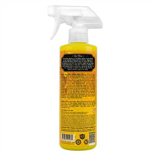 Chemical Guys - Blazin' Banana Spray Wax Natural Carnauba Spray Gloss - 473ml