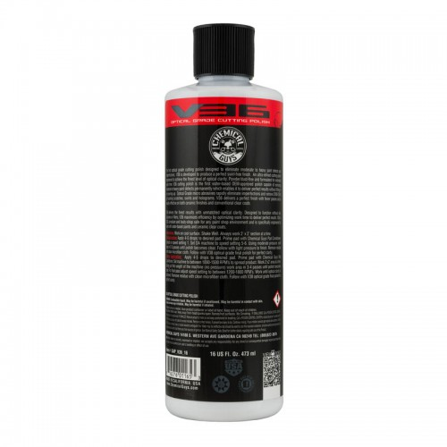 Chemical Guys - V36 Optical Cut - Optical Grade Cut Polish - 473ml