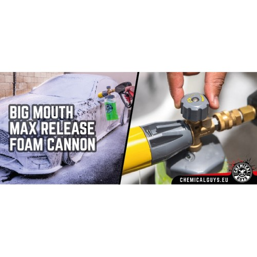 Chemical Guys - TORQ Big Mouth Max Release Schuimkanon
