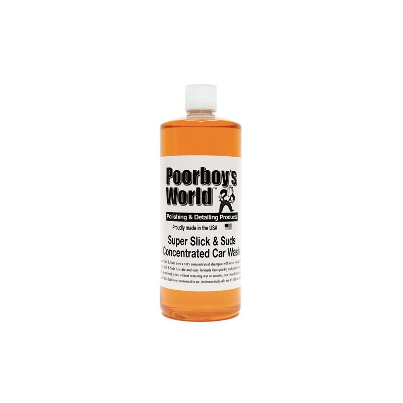 Poorboys World - Super Slick & Suds Concentrated Wash - 946ml