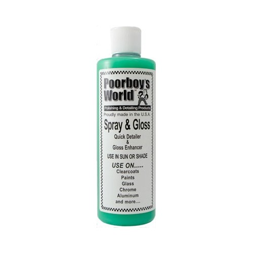 Poorboys World - Spray & Gloss -437ml