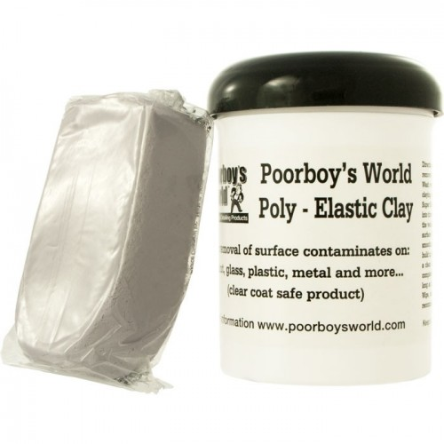 Poorboys World - Poly - Elastic Clay detailing klei - 200gr