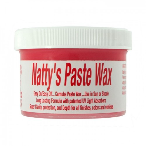 Poorboys World - Natty's Paste Wax Red - Limited Edition - 235ml