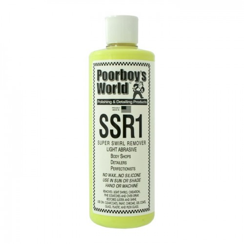 Poorboys World - SSR1 Light Abrasive Swirl Remover - 473ml