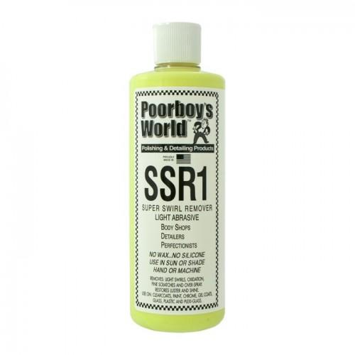 Poorboys World - SSR1 Light Abrasive Swirl Remover - 473ml