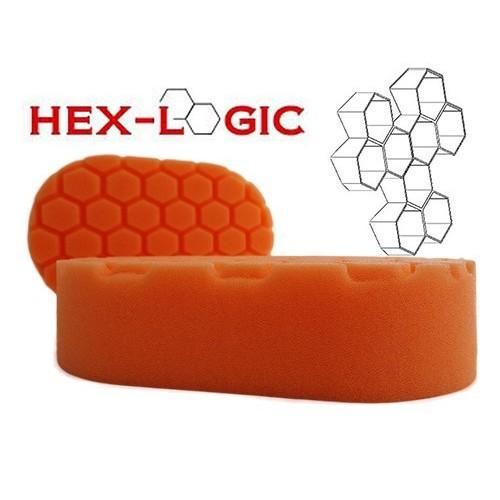 Chemical Guys - Hex Logic Orange (Light Cutting) Hand Applicator Pad
