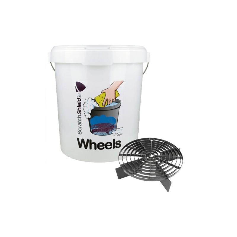 ScratchShield - Bucket Wheels + ScratchShield Black