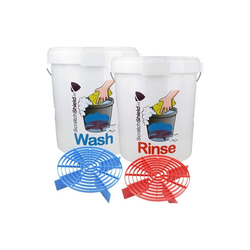 ScratchShield - Bucket Wash+Rinse + Scratchshields