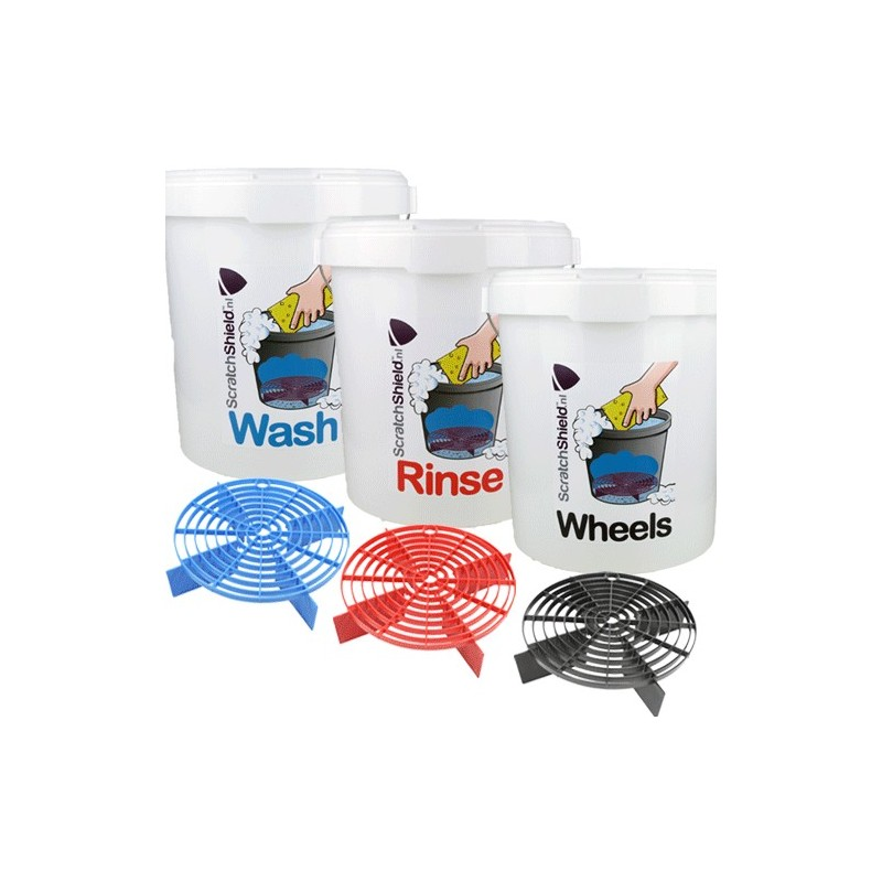 ScratchShield - Bucket Wash/Rinse/Wheels + ScratchShields