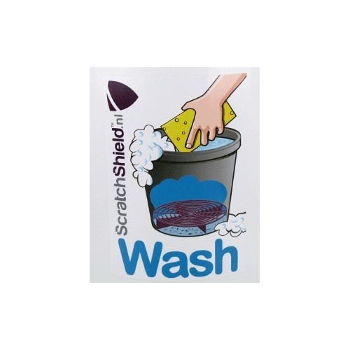 Scratchshield - Wash Sticker