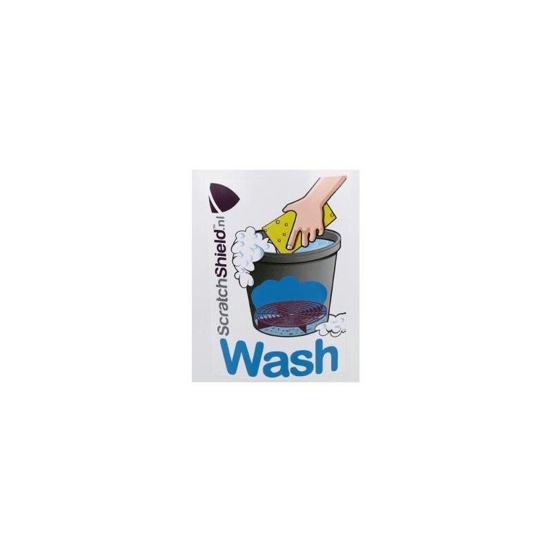 Scratchshield - Wash Sticker