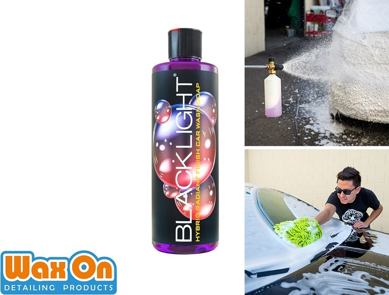 WaxOn.nl Chemical Guys Black Light Shampoo