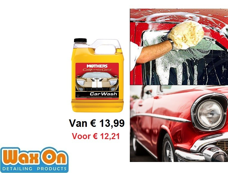 Mother's California Gold Car Wash aanbieding