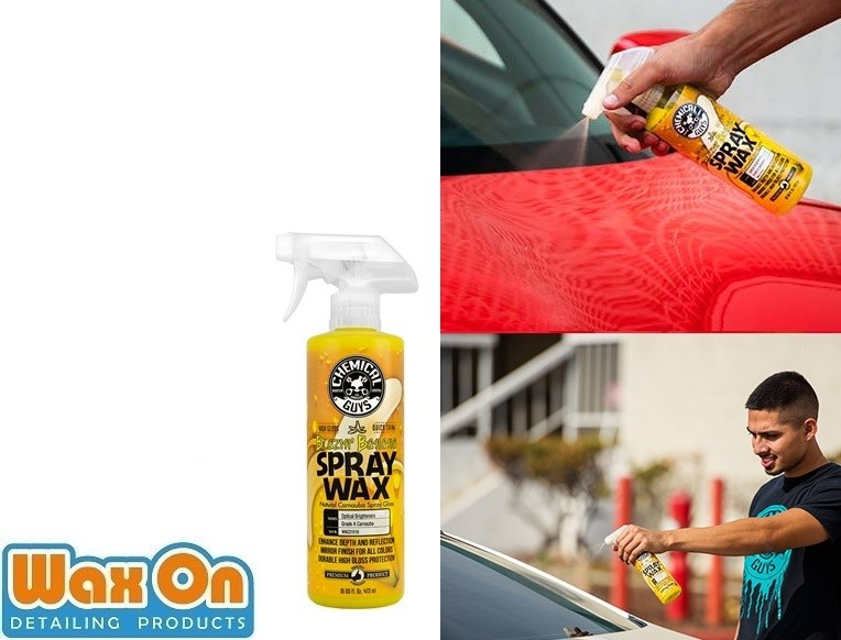 Chemical Guys Blazin' Banana Spray Wax